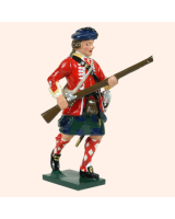 0613 5 Toy Soldier Advancing 42nd Highland Regiment of Foot Kit