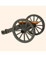 0618 G Toy Soldier Cannon Royal Artillery 1750 Kit