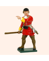 0619 1 Toy Soldier Officer British Light Infantry Kit