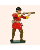 0619 3 Toy Soldier Private Firing British Light Infantry Kit
