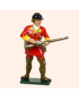 0619 4 Toy Soldier Private Loading British Light Infantry Kit