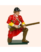 0619 6 Toy Soldier Private Kneeling British Light Infantry Kit