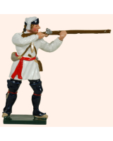 0620 2 Toy Soldier Private Standing Firing Compagnies Franches de la Marines Kit