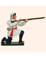 0620 4 Toy Soldier Private Kneeling Firing Compagnies Franches de la Marines Kit