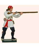 0621 2 Toy Soldier Private Standing Firing Compagnies Franches de la Marines Kit