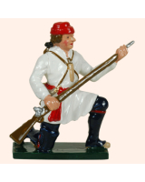 0621 6 Toy Soldier Private Kneeling preparing Compagnies Franches de la Marines Kit