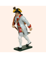 0624 3 Toy Soldier Private with rifle in sling Infantry Guyenne Regiment Kit