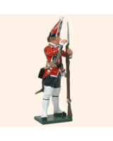 0651 3 Toy Soldier Grenadier loading musket Kit