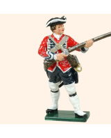 0653 10 Toy Soldier Private at the ready Kit