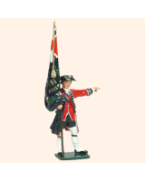 0653 03 Toy Soldier Ensign with Regimental Colour Kit