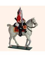 0656 3 Toy Soldier Mounted Trooper Scots Grey Kit