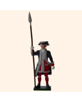 0660 1 Toy Soldier Officer Kit