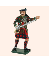 0681 1 Toy Soldier Highland Officer Kit