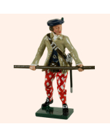 0681 2 Toy Soldier Highland Clansman with halbert Kit