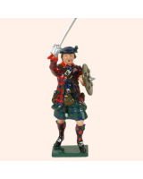 0681 5 Toy Soldier Highland Clansman feet together Kit