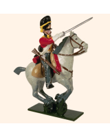 0727 2 Toy Soldier Trooper, Horse leg together Kit