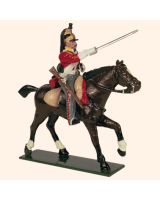 0734 1 Toy Soldier Trooper, Horse leg stretched out Kit