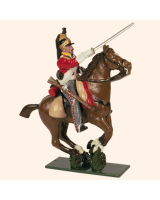 0734 2 Toy Soldier Trooper, Horse leg together Kit