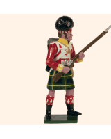 0738 4 Toy Soldier Private at the ready Kit