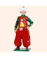 0746 6 Toy Soldier Mameluke Roustam Kit