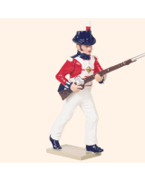 0751 4 Toy Soldier Marine advancing Kit