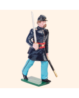 0909 1 Toy Soldier Officer marching Kit