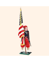 0911 2 Toy Soldier Colour Bearer Kit