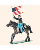 0914 2 Toy Soldier Guidon Bearer Kit