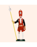 PG 2 Toy Soldier N.C.O. Potsdam Giant Grenadiers Kit