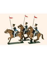 115 - 17th Lancers Toy Soldiers Set Painted