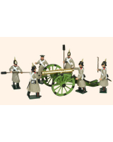 117 Russian Artillery Toy Soldiers Set Painted