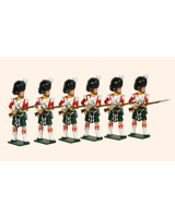 118 - 93rd Highlanders Toy Soldiers Set Painted