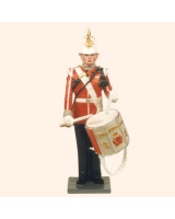 0532 Toy Soldiers Set Drummer Painted