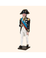 0535 Toy Soldiers Set Admiral Lord Nelson 1805 Painted