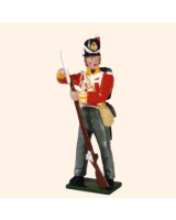 0538 Toy Soldiers Set British Line Infantry Private 1815 Painted