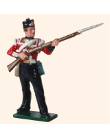 559 British Infantry Private Toy Soldier Set Painted