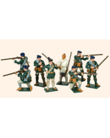 611 Toy Soldiers Set Rogers Rangers Painted