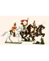 0711 Toy Soldiers Set French Line Dragoons Painted