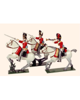 0726 Toy Soldiers Set The Royal Scots Greys Painted