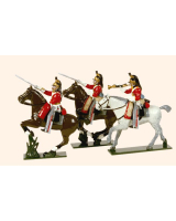 0731 Toy Soldiers Set The 1st Royal Dragoons Painted
