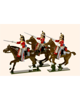 0732 Toy Soldiers Set The 1st Royal Dragoons Painted