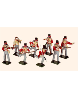0742 Toy Soldiers Set Highland Light Infantry Painted