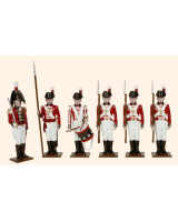 0075 Toy Soldiers Set The Royal Marines Painted