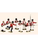 0751 Toy Soldiers Set The Royal Marines Painted