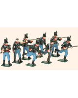 0753 Toy Soldiers Set The 60th Rifles 1808-1815 Painted