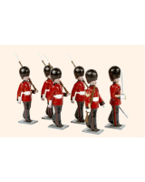 0088 Toy Soldiers Set Scots Guards 1894 Painted