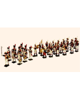0089 Toy Soldiers Set The Band 30 figure Painted