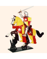 MK01 Toy Soldier Set Richard de Vere Earl of Oxford Painted