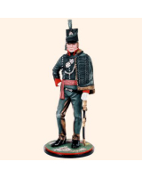 AS90 11 Officer 5th Battallion 60th Royal American Regiment of Foot Painted
