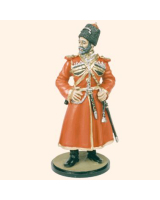 TM90 12 Officer Emperors Cossack Escort 1900 Painted